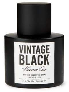 Kenneth Cole Vintage Black Eau De Toilette Spray/3.4 oz.