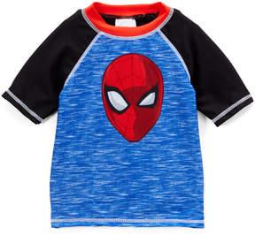 Spiderman Black & Blue Rashguard - Toddler