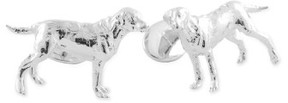 David Donahue Men's 'Labrador' Sterling Silver Cuff Links