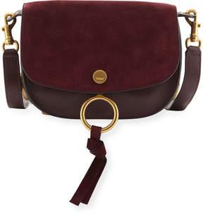 Chloé Leather/Suede Shoulder Bag