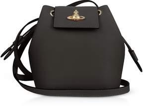 Vivienne Westwood Pimlico Saffiano Leater Bucket Bag