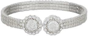 Cezanne Daisy Rhinestone Cuff Bracelet