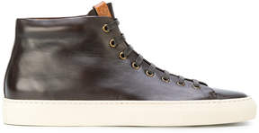 Buttero smooth hi-top sneakers
