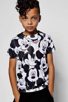 boohoo Boys Disney Big Mickey Sublimation Tee