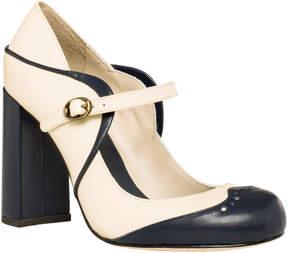 Max Studio holmby 2 : polished calf high heel mary janes