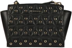 Michael Kors Selma Shoulder Bag - BLACK - STYLE