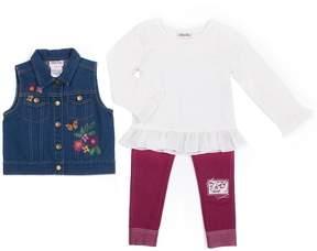 Little Lass Baby Girl Denim Vest