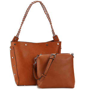Urban Expressions Stud Shoulder Bag - Women's