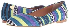 M Missoni Star Stripe Pink Ballet Shoes