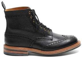 Tricker's TRICKERS + Todd Snyder Exclusive Black Zug Grain Boot