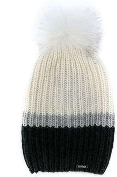Woolrich ribbed knit cashmere hat