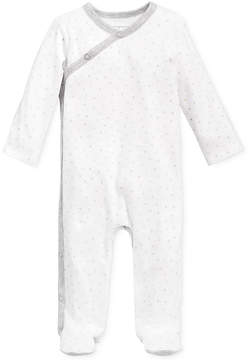 First Impressions 1-Pc. Star-Print Footed Coverall, Baby Boys & Girls (0-24 months), Created for Macy's