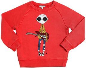 Little Marc Jacobs Musician Printed Cotton Sweatshirt
