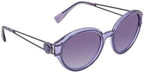 Versace Violet Gradient Round Sunglasses VE4342 1214Q