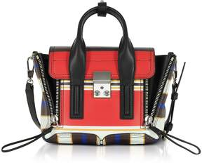 3.1 Phillip Lim Multi Scarlet Leather Pashli Mini Satchel Bag