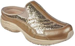 Easy Spirit Traveltime Leather Sequined Sneaker Mule