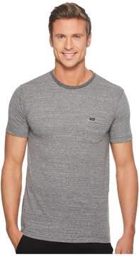 VISSLA Sartine Short Sleeve Pocket Knit Men's Clothing