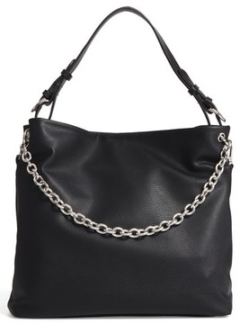 Chelsea28 Taylor Faux Leather Shoulder Bag - Black