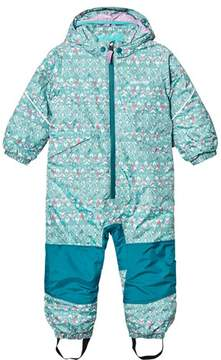 Patagonia Sockeye Scales Strait Blue Baby Snow Pile One-Piece