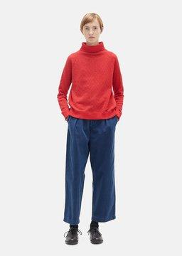 Blue Blue Japan Indigo Chino Work Pants Navy Size: Medium