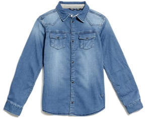 GUESS Knit Denim Shirt (7-18)