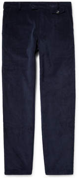Oliver Spencer Cotton And Wool-Blend Corduroy Trousers