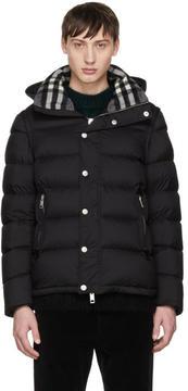 Burberry Black Down Hartley Jacket