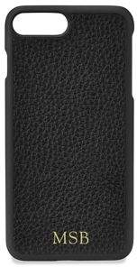 GiGi New York Personalized Pebbled Leather iPhone 7 Plus Case