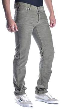 Richmond Men's Green Cotton Jeans.