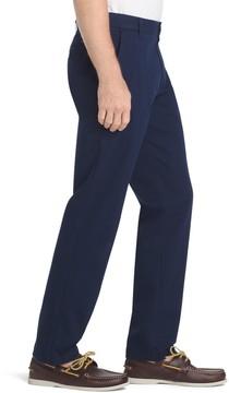 Izod Men's Straight-Fit Performance Plus Flat-Front Chino Pants