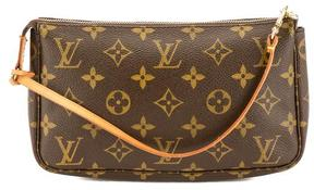 Louis Vuitton Monogram Canvas Pochette Accessoires Bag - BROWN - STYLE