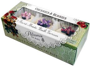 Cherries and Berries Bath Set by Patisserie de Bain (3 Bath Tablets)