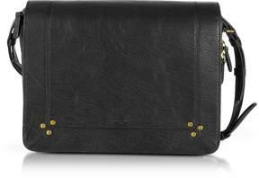 Jerome Dreyfuss Igor Black Leather Shoulder Bag