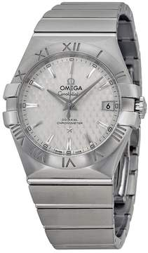 Omega Constellation Co-Axial Automatic Silver Dial Stainless Steel Watch 12310352002002