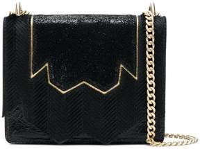 Just Cavalli embellished panelled shoulder bag