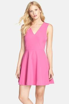 Felicity & Coco Back Cutout Fit & Flare Dress