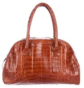 Nancy Gonzalez Crocodile Dome Bag