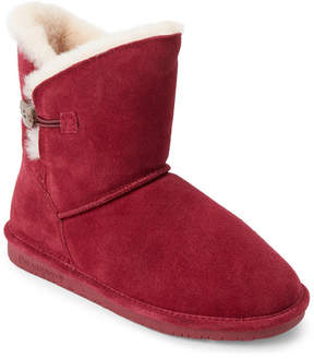 BearPaw Bordeaux Toggle Shearling Boots