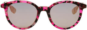 McQ Pink Pantos Sunglasses