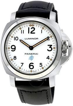 Panerai Luminor Base Logo Acciaio Hand Wound Men's Watch