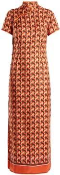 DAY Birger et Mikkelsen F.R.S - FOR RESTLESS SLEEPERS Eutenea geometric-print silk-twill dress