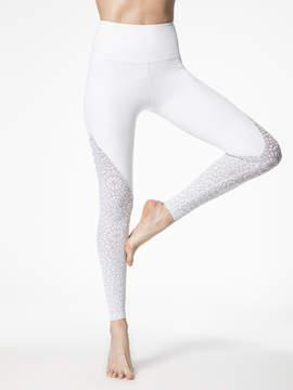 Beyond Yoga Cut It Close Mesh High Waisted Long Legging