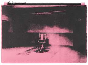 Calvin Klein x Andy Warhol Foundation Little Electric Chair clutch bag