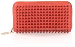 Christian Louboutin Pre-owned: Panettone Wallet Spiked Leather.