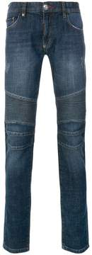 Philipp Plein ribbed skinny jeans