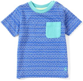 Joules Baby/Little Boys 12 Months-3T Olly Wave-Striped Short-Sleeve Tee