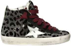 Golden Goose Deluxe Brand Super Star Leopard Suede Sneakers