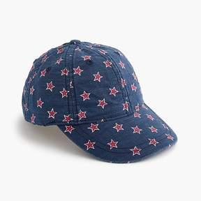 J.Crew Kids' star-printed baseball cap