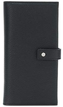 Saint Laurent Men's Black Leather Wallet.