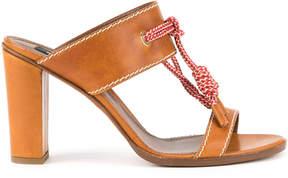DSQUARED2 rope tie sandals